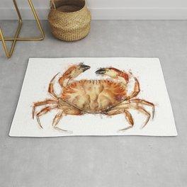 Crab | Watercolor Rug