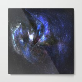 Galaxy abstract Metal Print