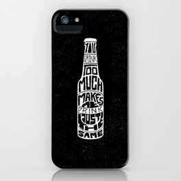 alone together iPhone Case