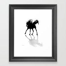 Shadow Dancer painting Framed Art Print