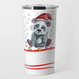 Christmas Let It Snow  Travel Mug