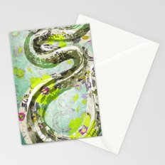 Garden Snake Commons Stationery Cards