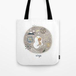 Virgo Earth Tote Bag