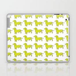 Doxie Love - Lime Laptop & iPad Skin