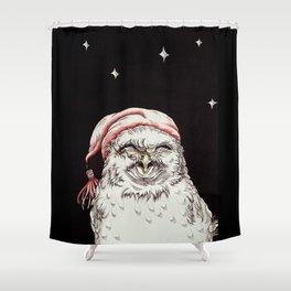 Good Night, Little Owl Shower Curtain
