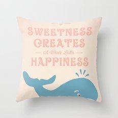 A Little Sweetness Throw Pillow
