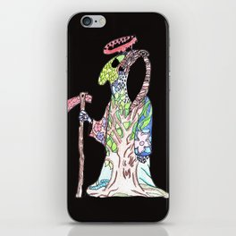 Death Awaits iPhone Skin
