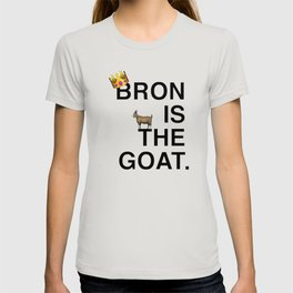 lebron goat T-shirt