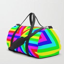 6 Color Triangle Target Hexagon Duffle Bag