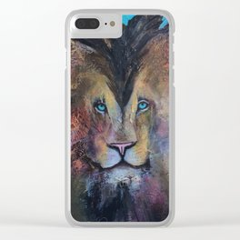 Cecil Heart Clear iPhone Case