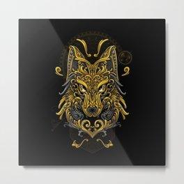 Wolf - Metal Print