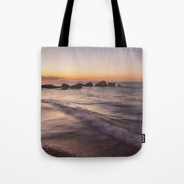 Tranquility after sunset Tote Bag