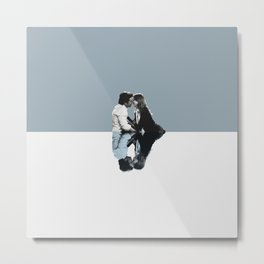 Derek and Meredith Metal Print