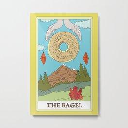 The Bagel Metal Print