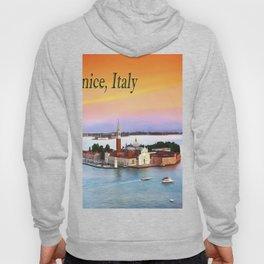 Venice, Italy Orange Sunset Hoody