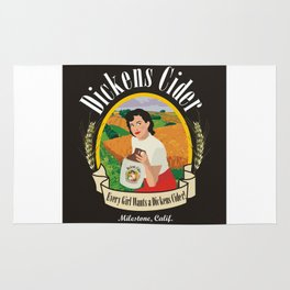 Dickens Cider - Every Girls Likes A Dickens Cider! Rug