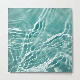 Water 4 Metal Print