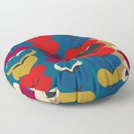 HAPPY HEARTS N17 Floor Pillow