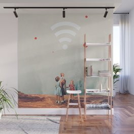 Wirelessly connected to Eternity Wall Mural