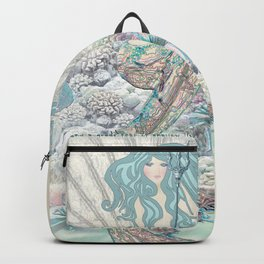 Anais Nin Mermaid [vintage inspired] Art Print Backpack