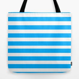 Blue Lines Tote Bag