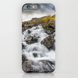 Cwm Idwal River Snowdonia iPhone Case