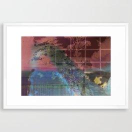 Into Framed Art Print