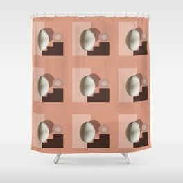 Ab ovo pattern Shower Curtain