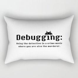 Debugging Definition Rectangular Pillow