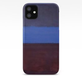 No.61 Rust and Blue 1953 by Mark Rothko iPhone Case