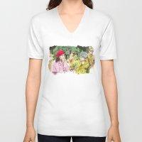 moonrise kingdom V-neck T-shirts featuring moonrise kingdom by jgart