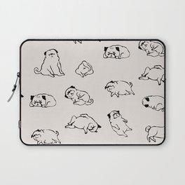More Sleep Pug Laptop Sleeve