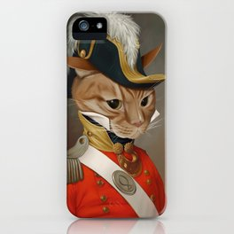 Sir Comet Thelonious, esq iPhone Case