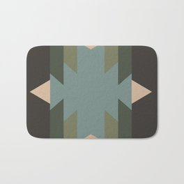 Green Star  - does it belong in the Forest or in the Space?? Bath Mat