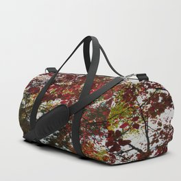 Autumn Leaves Abstract Duffle Bag