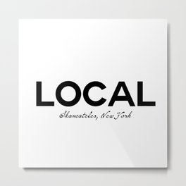 Local - Skaneateles, New York Metal Print