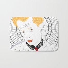 """""""Egon Schiele"""" Bath Mat"""