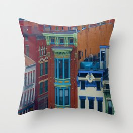 Vine Street, Over-the-Rhine Throw Pillow