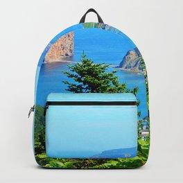 Perce From Dawn's Peak panoramic cut Backpack