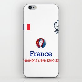 Champion Uefa Euro 2016 France iPhone Skin