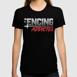 Fechten Geschenk T-shirt