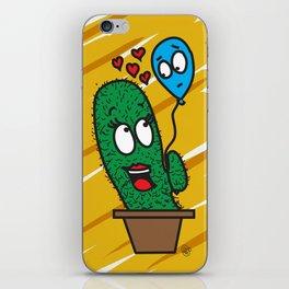 Spiky love iPhone Skin