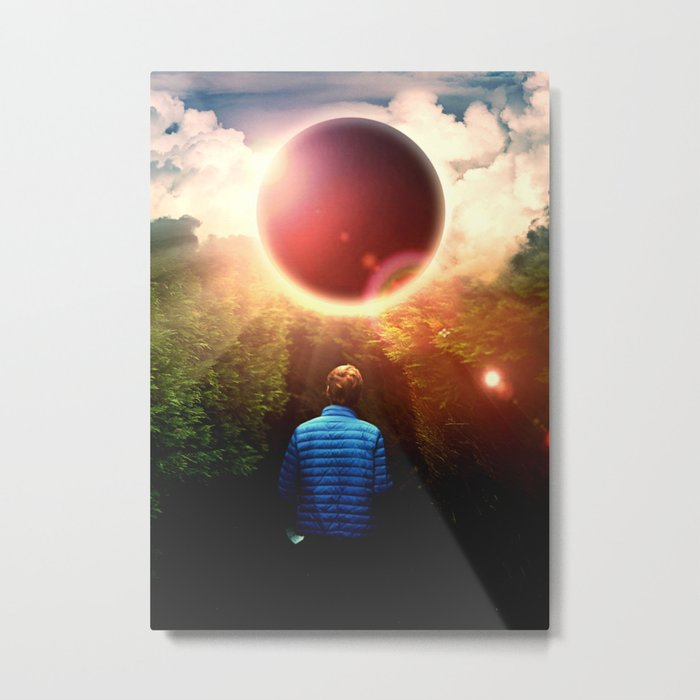 Close To The Eclipse Metal Print
