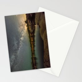 Milkyway at Halibut Point State Park quarry Stationery Cards