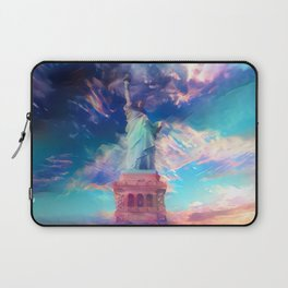 Welcome To The Bright Side Laptop Sleeve