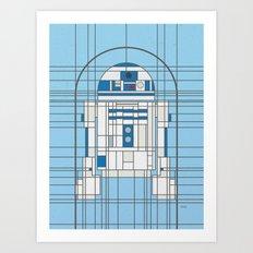 R2D2 Deco Droid Art Print