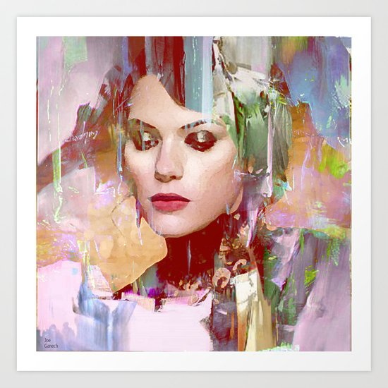 Vengeance of a betrayed woman Art Print