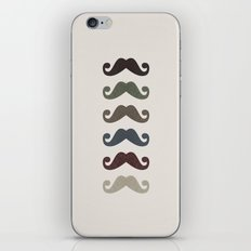Stache Attack iPhone & iPod Skin
