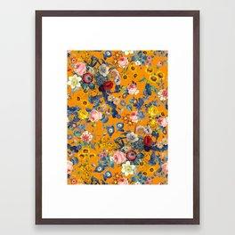 Summer Botanical Garden IX Framed Art Print