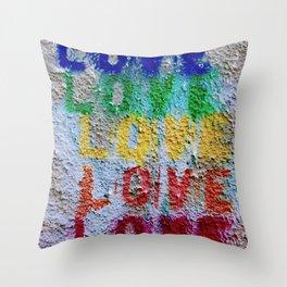 Seal of Love Throw Pillow